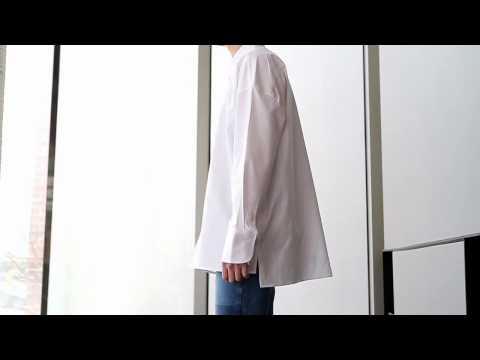 [컴포타임] 베이직 오버핏 셔츠