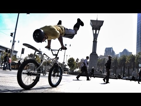 Bike Parkour - Streets of San Francisco!