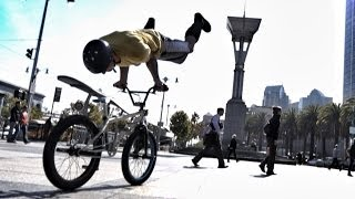 Bike Parkour -Streets of San Francisco!(Watch the behind the scenes we shot with Ford in the link below! http://youtu.be/9hHuqHzhP-4 I got to work with some of the best Trials bikers in the country take ..., 2013-12-10T23:08:12.000Z)