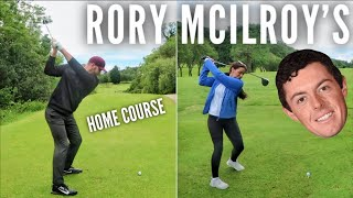 Playing Rory McIlroy's Home Course | Holywood Golf Club / Видео