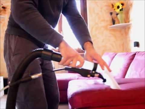 lavaggio divano - youtube - Pulire Divani Con Vapore