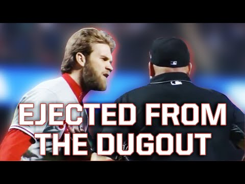 Bryce Harper Gets Ejected and Gabe Kapler goes off on the ump, a breakdown