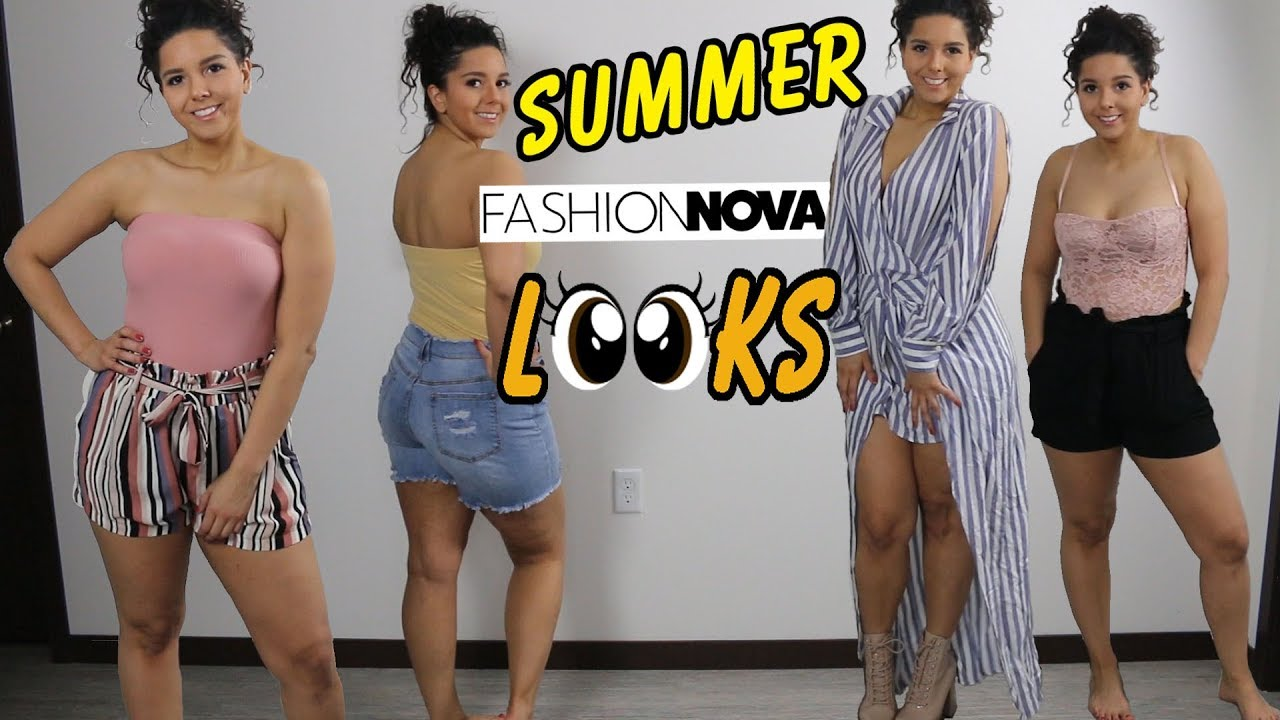 Fashion Nova | Summer Looks – Cute Simple Outfits Try on Haul and Review