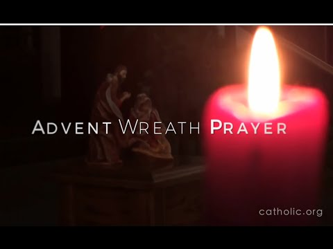Advent Wreath Prayer HD