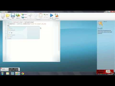 How to use buttons in microsoft small basic msb youtube how to use buttons in microsoft small basic msb ccuart Image collections