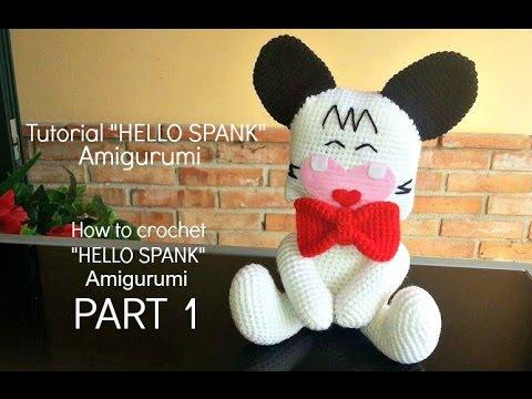 Crochet Doraemon Amigurumi : Tutorial hello spank amigurumi how to crochet hello spank