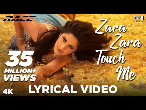 Zara Zara Touch Me Lyrical- Race | Katrina Kaif, Saif Ali