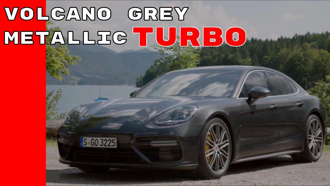 2016 Porsche Panamera Gts >> 2017 Porsche Panamera Turbo Volcano Grey Metallic - YouTube