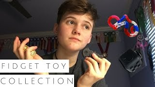 my stim/fidget toy collection