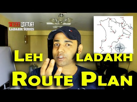 Leh Ladakh | Route Plan | Most Adventurous Roads | Bike Trip Guide