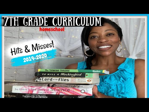 END OF 7th GRADE HOMESCHOOL CURRICULUM CHOICES |  HITS & MISSES | 2019-2020