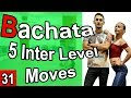 Bachata Tutorial 31 : 5 Intermediate Moves| #MariusElenaBachata 2019