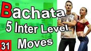 Bachata Tutorial 31 : 5 Intermediate Moves | #MariusElenaBachata (2019)