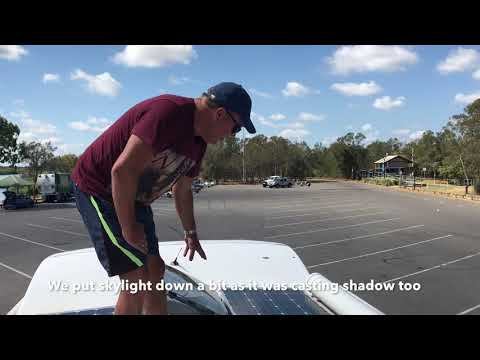 Kev's Travel Tips - Cleaning your Solar Panels