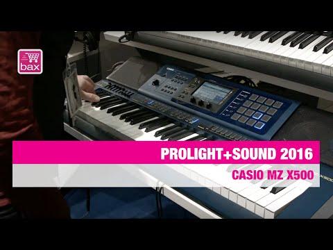 Casio MZ X500 - Prolight+Sound