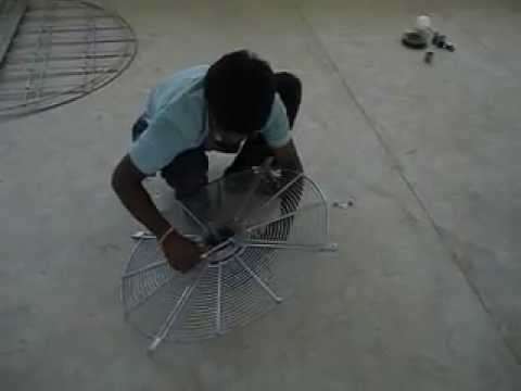 Assembly Instruction For GCT+(ECO) Cooling Tower-Motor Assy.(GEM Equipments (P) Ltd)