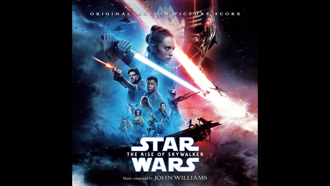 The Rise of Skywalker John Williams Audio CD Disney Music Soundtrack Star Wars