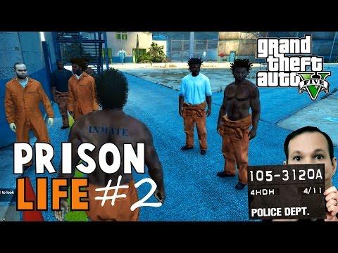 GTA 5 Prison Life #02   Jobs in der Knast Mod!   Let's Play GTA V German Deutsch   DerWegrenner