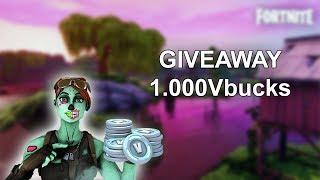 1000 vBucks Giveaway SONTE - Fortnite Live Shqip