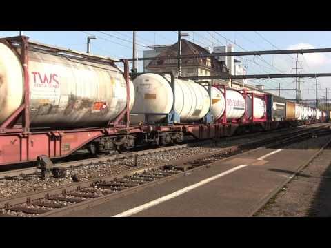 Deux heures de trafic ferroviaire à Pratteln