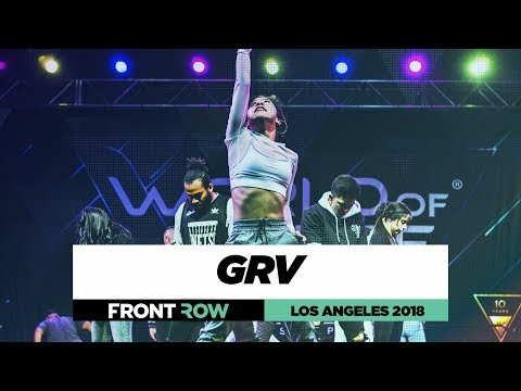 GRV |  FrontRow | World of Dance Los Angeles 2018 | #WODLA18