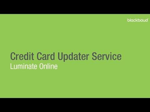 Credit Card Updater Service