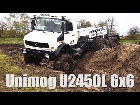 UNIMOG U2450L 6x6