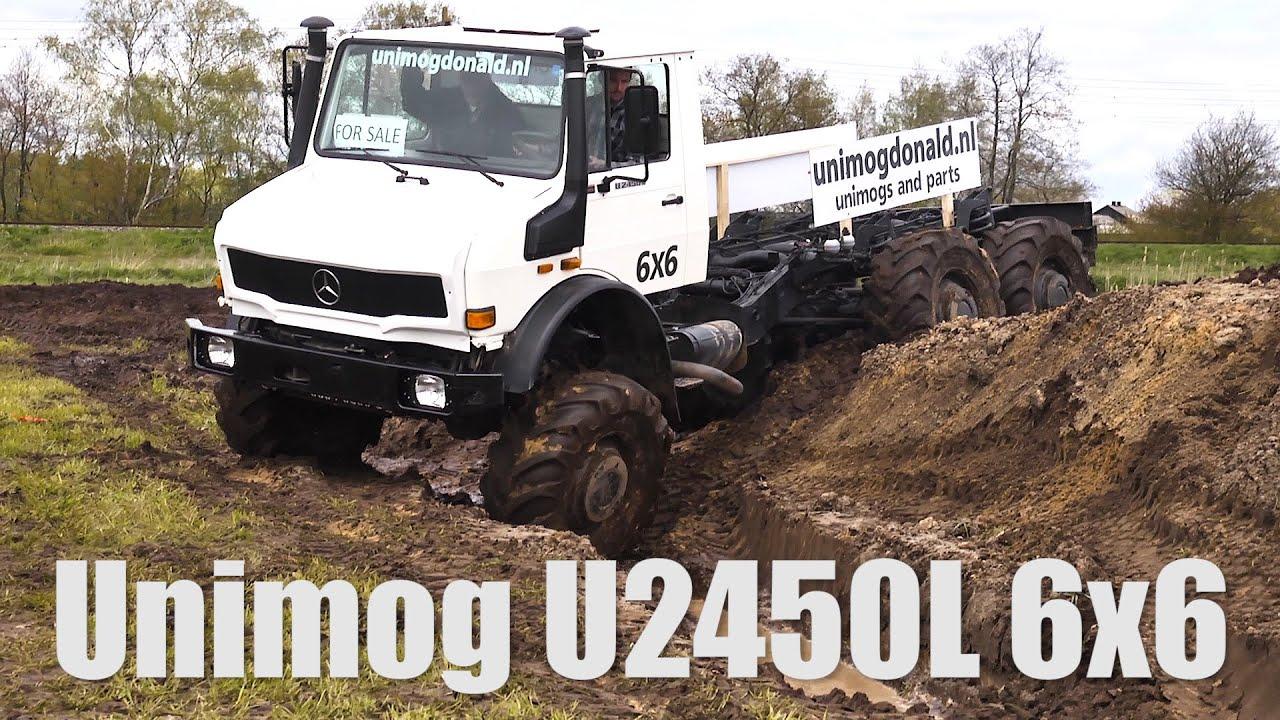 Unimog For Sale >> UNIMOG U2450L 6x6 - YouTube