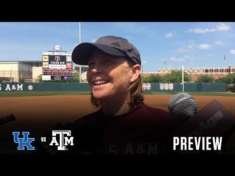Softball: Kentucky Preview   Evans, Russell, Hudek 4.12.18