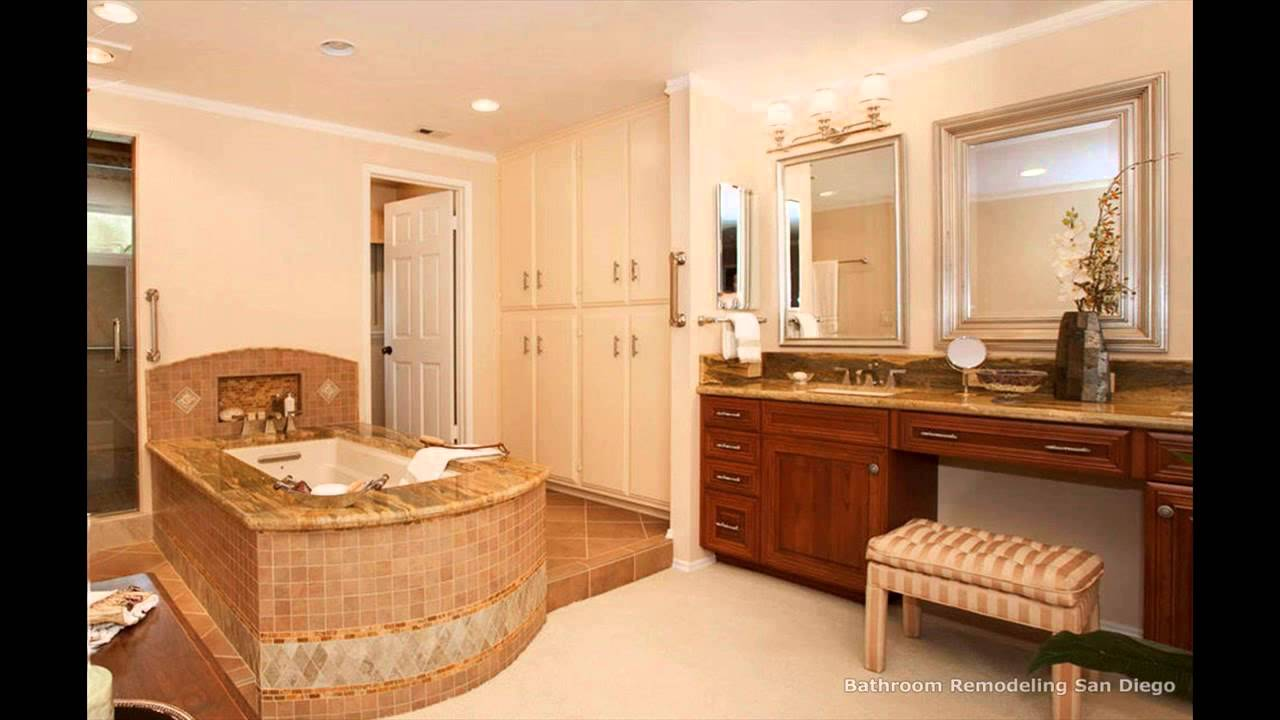 How to remodel a bathroom in a mobile home youtube for Home bathroom remodel
