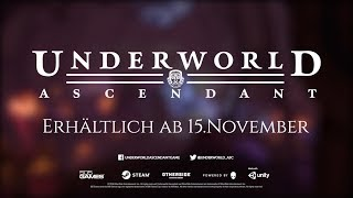 Underworld Ascendant | 15s Launch Trailer | Steam | Deutsch