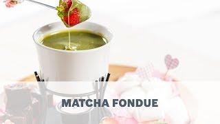 Matcha Fondue Recipe – Cooking with Bosch