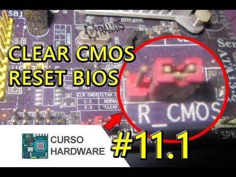 🚩 Como fazer o RESET da BIOS (CLEAR CMOS) e Retirar a SENHA do SETUP - Curso Hardware #11.1