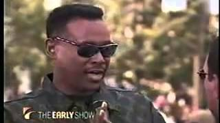 Luther Vandross performing live