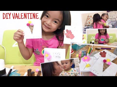 Everyday is Valentine | DIY Valentine Card | Zara di Hari Kasih Sayang