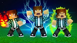 GANHEI SUPER PODERES NO MINECRAFT !!