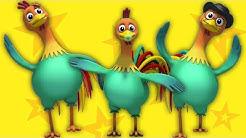 famille doigt coq | enfants et chanson bébé | Finger Play Song | Roosters Finger Family | Kids Songs
