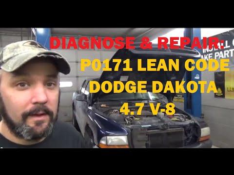 P0171 Dodge Dakota - YouTube