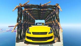 MEGA TUNEL HUMANO! - CARRERA GTA V ONLINE - GTA 5 ONLINE