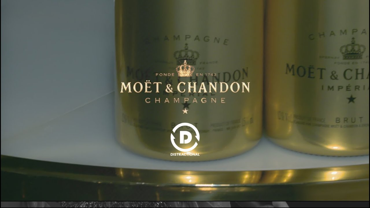 live social media news at the moet champagne party at la maquette   distractional