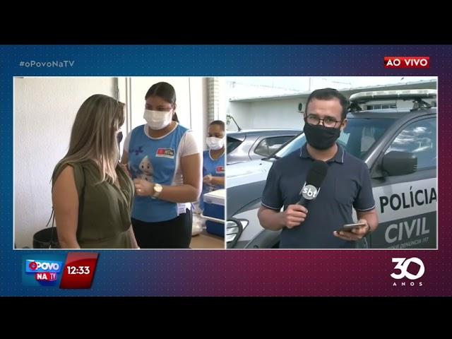 Forças de segurança na Paraíba recebem vacinas contra covid-19 - O Povo na TV