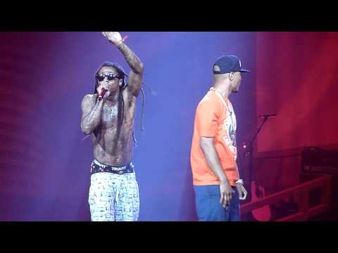 T.I. ft Lil Wayne - Wit It LIVE!!