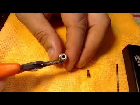 0 85 sub ohm Aspire Nautilus Atty Coil Build Tutorial