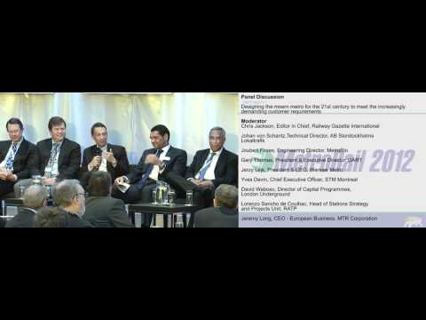 MetroRio, STM Montreal and others discuss the metro rail industry