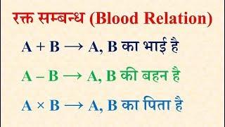 R - 9.3  रक्त सम्बन्ध (Blood Relation) - Reasoning (रीजनिंग)