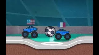MONSTER TRUCK SOCCER GAME WALKTHROUGH