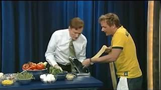 Conan Cooks with Gordon Ramsay - 6/16/2006
