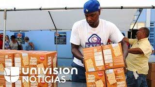 """""""Tengo un compromiso moral"""": así ayudó a las víctimas de Puerto Rico el exbeisbolista Carlos Delgado"""
