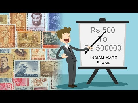 Rare Indian Princely State Stamps Rs 500 To 50000