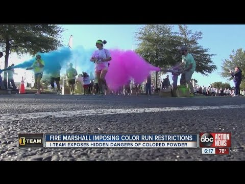 I-Team: Hillsborough County Fire Marshal puts new restrictions on color run event